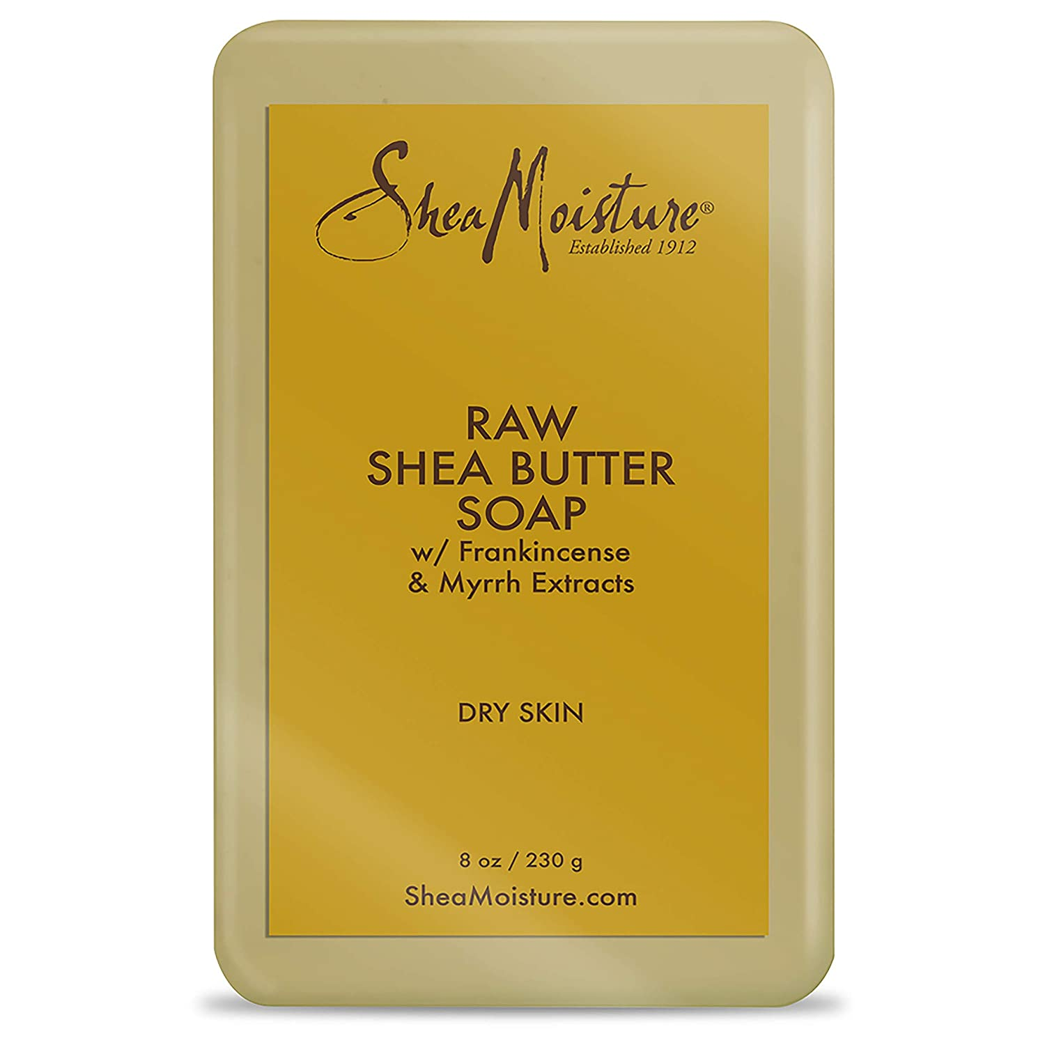 SheaMoisture Face and Body Bar Soap for Dry Skin