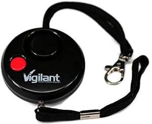 personal safety alarm vigilant grenade style