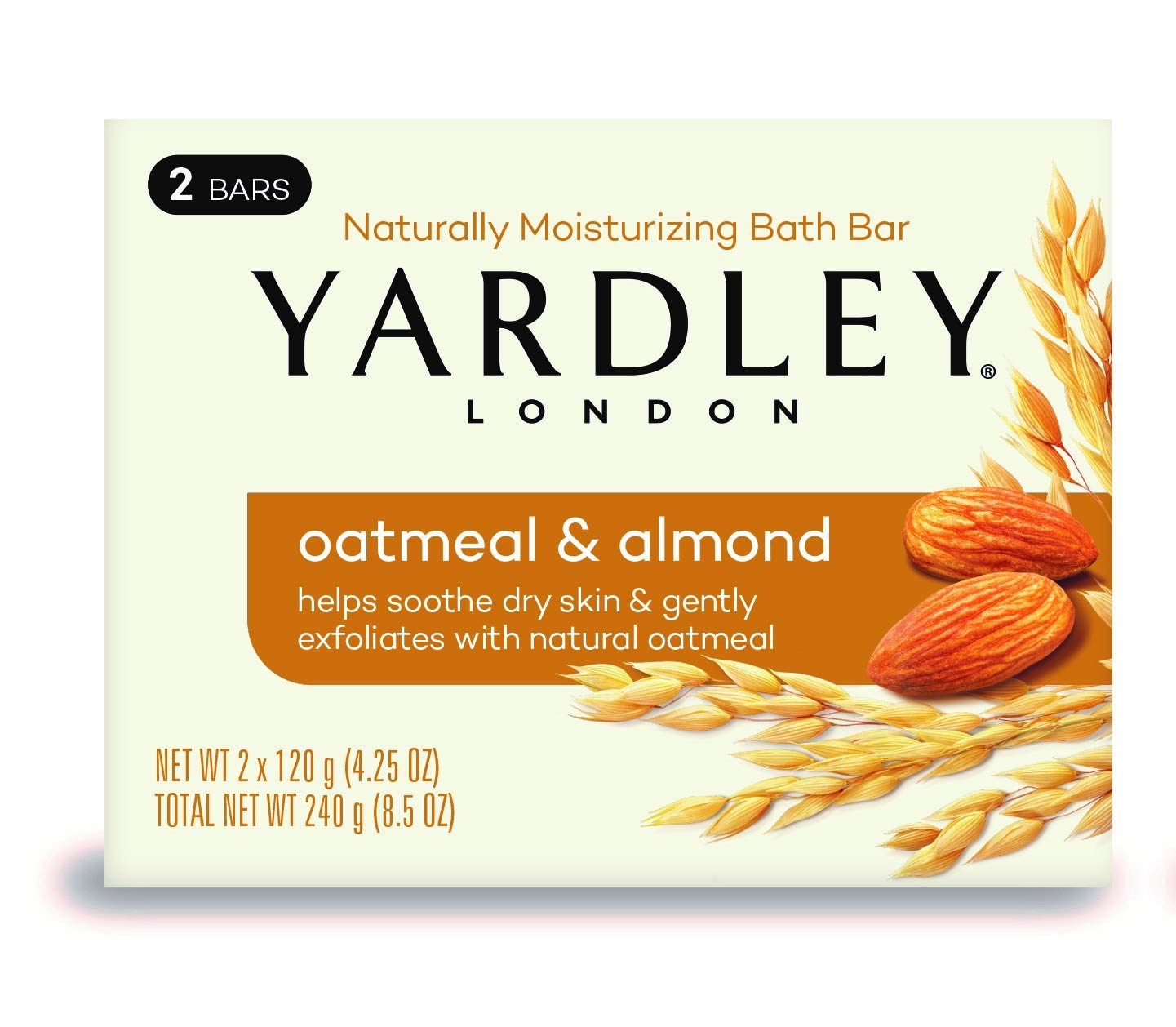 Yardley London Oatmeal and Almond Moisturizing Bath Bar