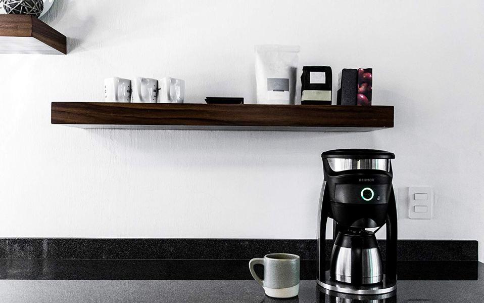 Smart wireless coffee maker