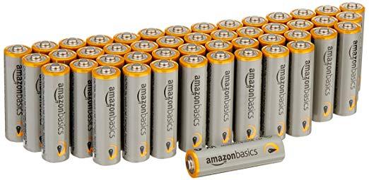 AmazonBasics AA Performance Alkaline Batteries Amazon