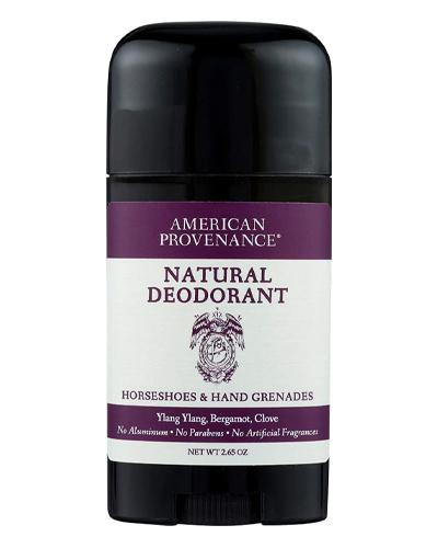 american provenance natural deodorant for men
