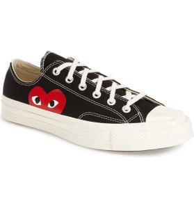 Black Heart Sneakers Converse