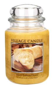 brunch ideas scented candles buttered bread