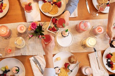 brunch-scented candles