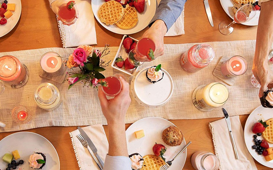 brunch ideas scented candles