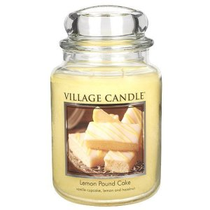 brunch ideas scented candles lemon pound cake