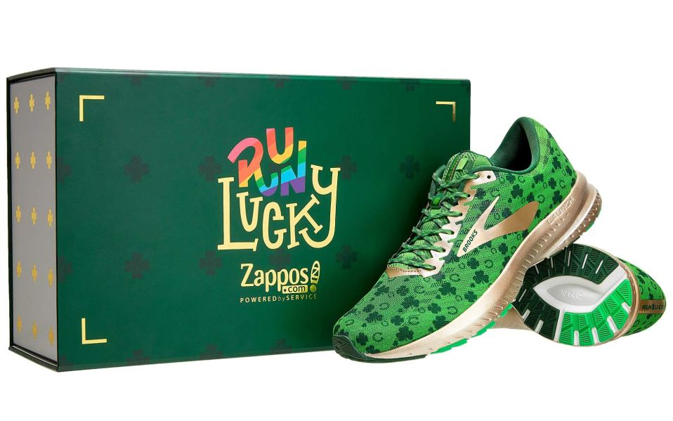 Zappos green sneaker