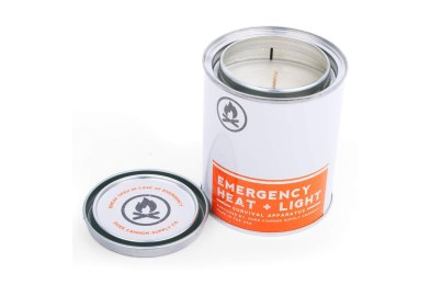 don't call this a scented candle it's an emergency heat and light source