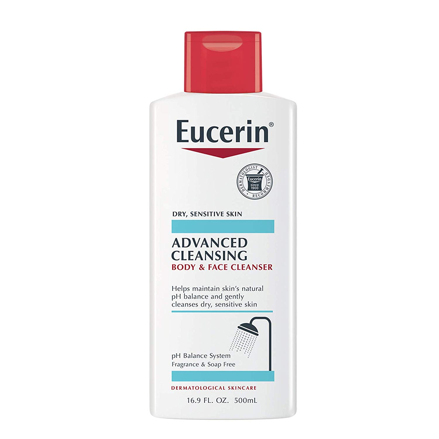 Eucerin Advanced Cleansing Body and Face Cleanser
