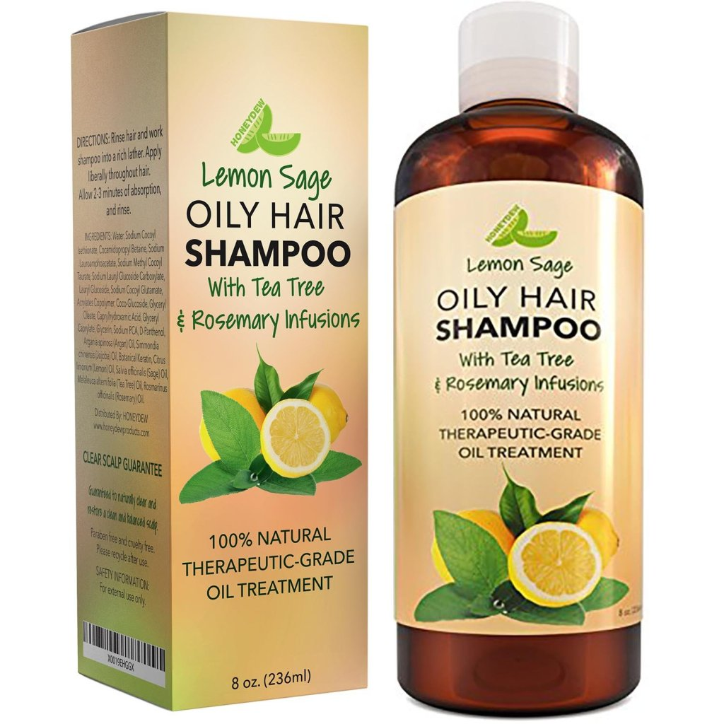 Honeydew Lemon Sage Volumizing Shampoo For Oily Hair