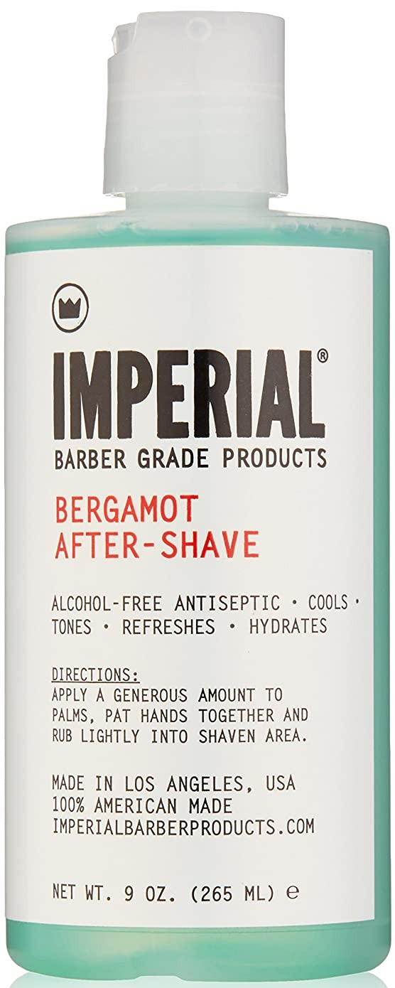 imperial barber grade products bergamot aftershave; best aftershave products