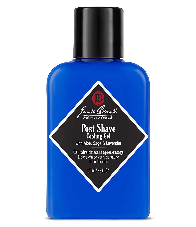 jack black post-shave colling gel aftershave; best aftershave products