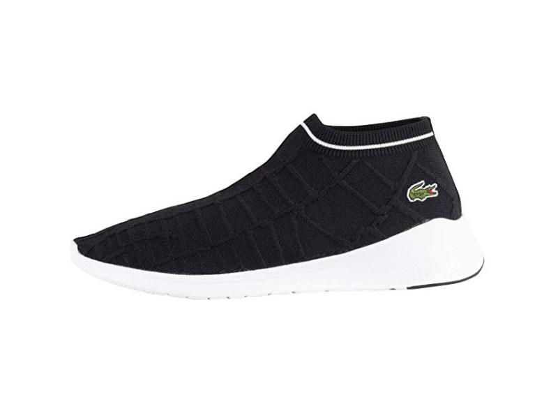 Best Sock Sneakers: Lacoste Knit Sock