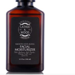 Lather & Wood Man's Man Facial Moisturizer