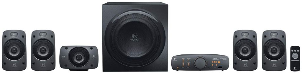 Logitech Z906 5.1 Surround Sound Speaker System Amazon