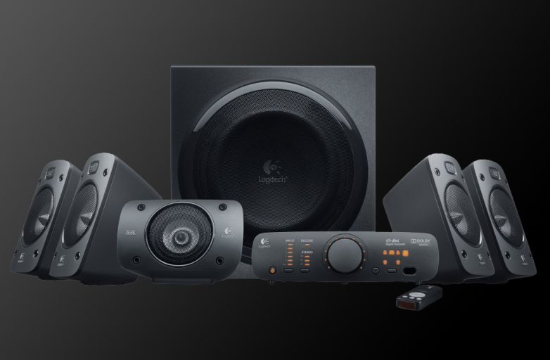 Logitech Z906 5.1 Surround Sound Speaker