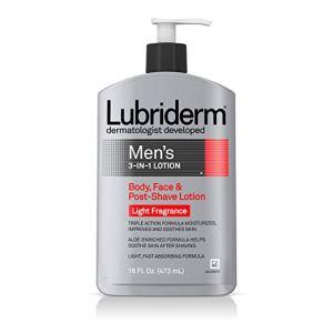 how to prevent razor burn lubriderm lotion