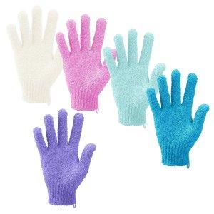 best loofah alternative madholly exfoliating gloves