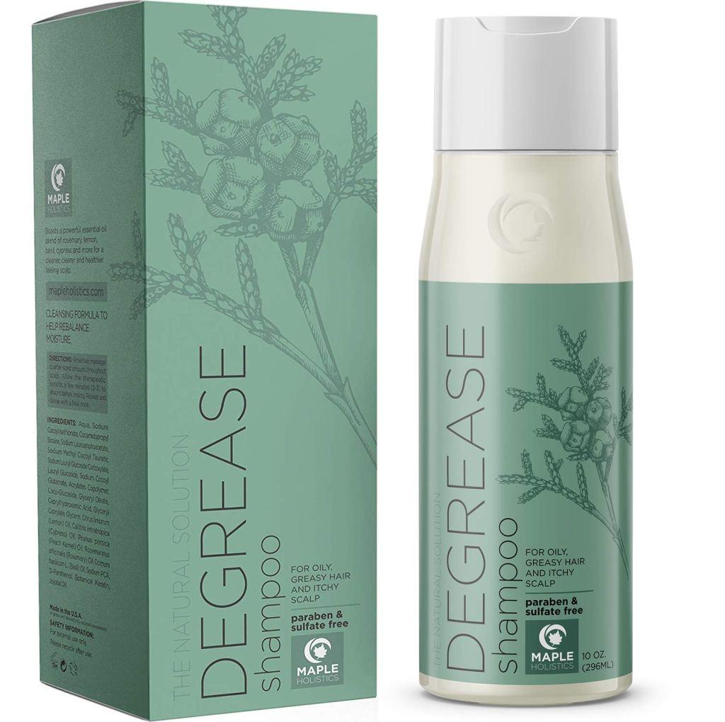 Maple Holistics Clarifying Shampoo for Oily Hair and Scalp