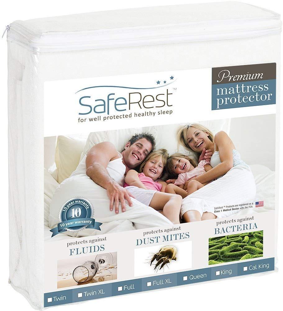 SafeRest Hypoallergenic Waterproof Mattress