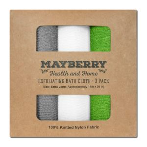 back loofah sponge mayberry health and home exfoliating