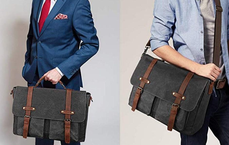 Best Men's Messenger Bags: Vintage Leather
