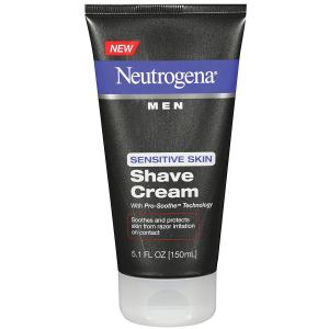 Neutrogena Men's Shaving Cream For Sensitive Skin