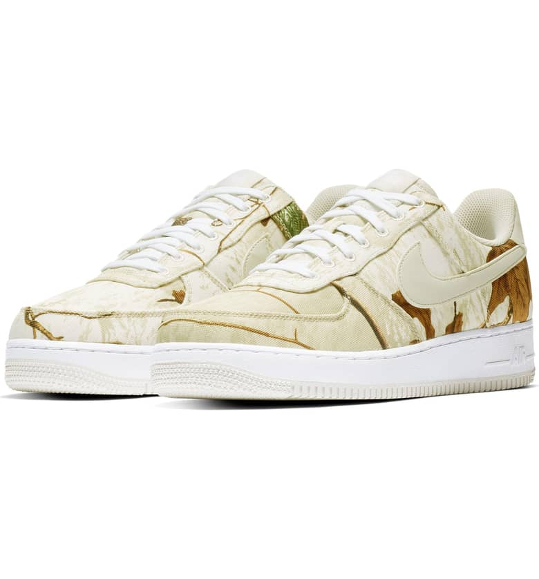 Nike Air Force 1 Camo Launch: RealTree