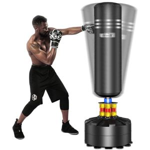 punching bags on stands dripex freestanding