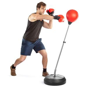 punching bags on stands boxing ball