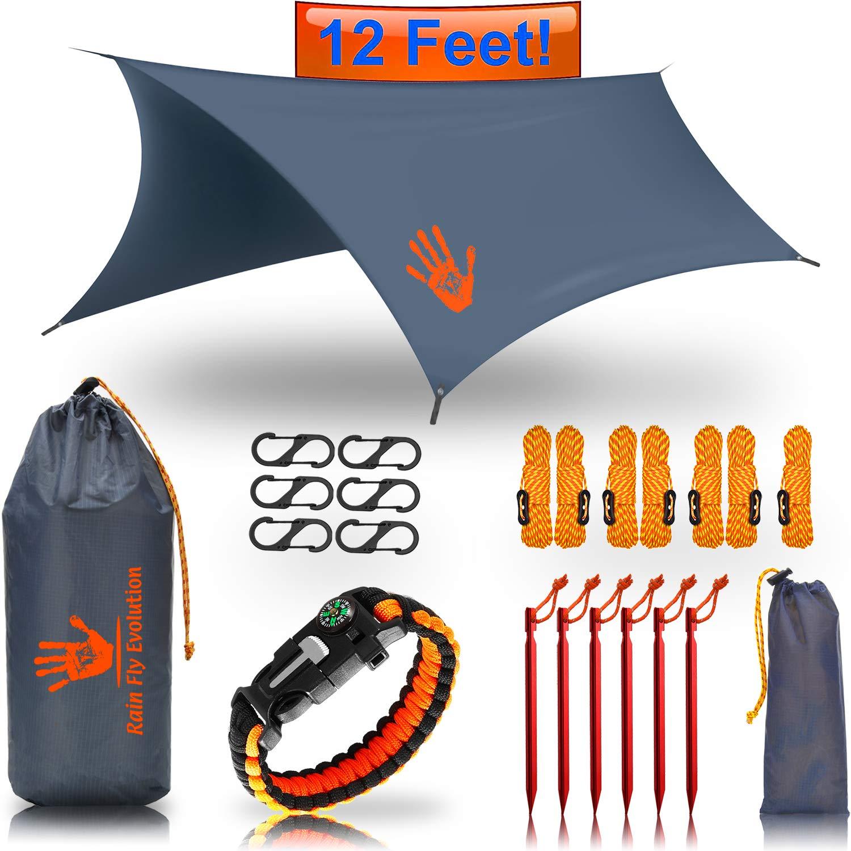 Rainfly survival kit