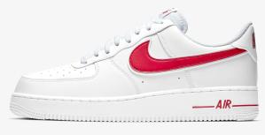 Air Force 1 Nike Red Swoosh