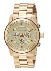 Gold Tone Watch Men's