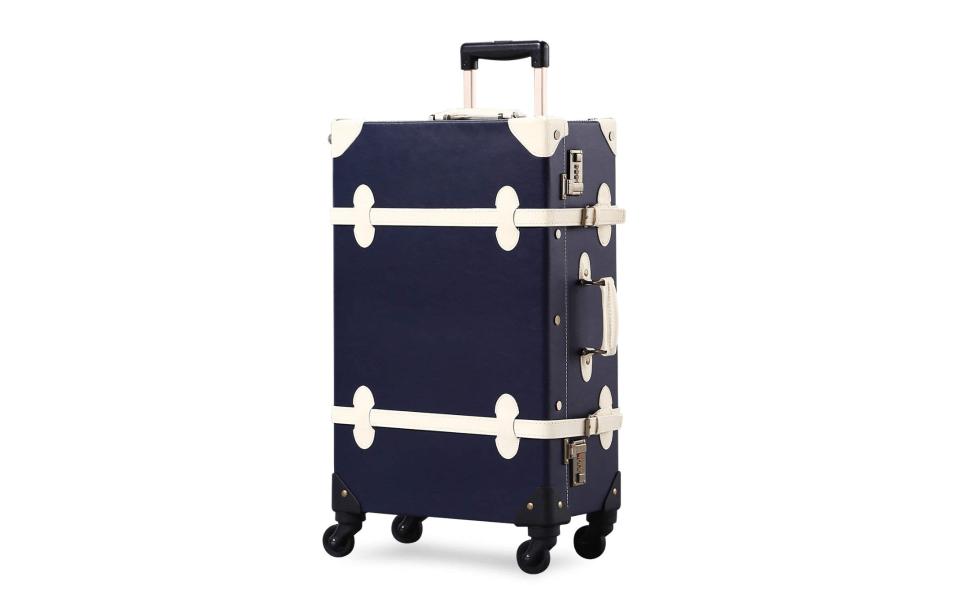 Unitravel Vintage rolling Suitcase