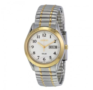 Classic Solar Two-tone Expansion Men's Watch
