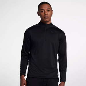 Black Golf Jacket Nike