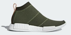 Green Knit Sneakers Adidas
