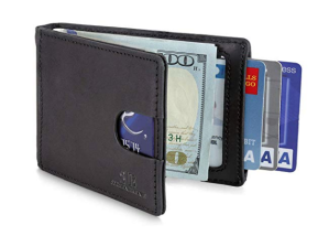 Pickpocket Wallet Black RFID