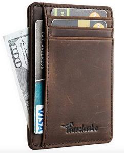 Leather Wallet Slim RFID