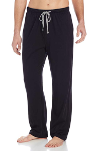 Black Sleep Pants Hanes Men's
