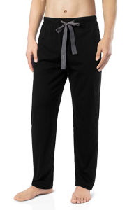 Black Sleep Pants Men's