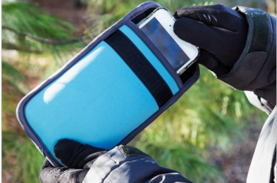 insulated phone case prevents shutting down in extreme hot or cold