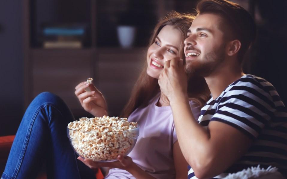 movie night at home