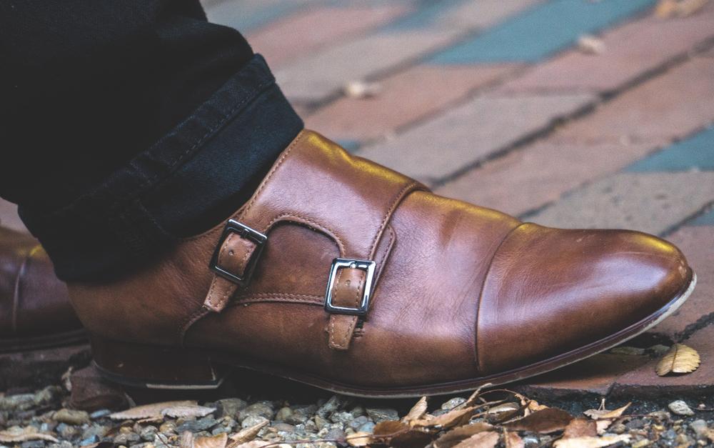 Vegan Monk-Strap Shoes: Affordable Men