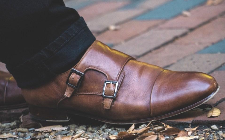 Mens Monk Strap Shoes