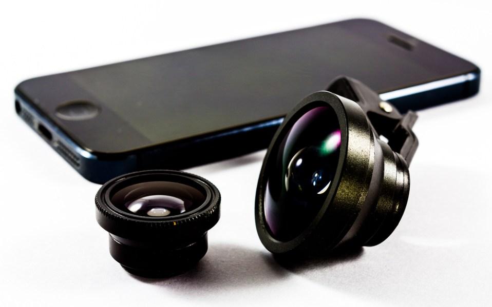 clip-on smartphone lenses