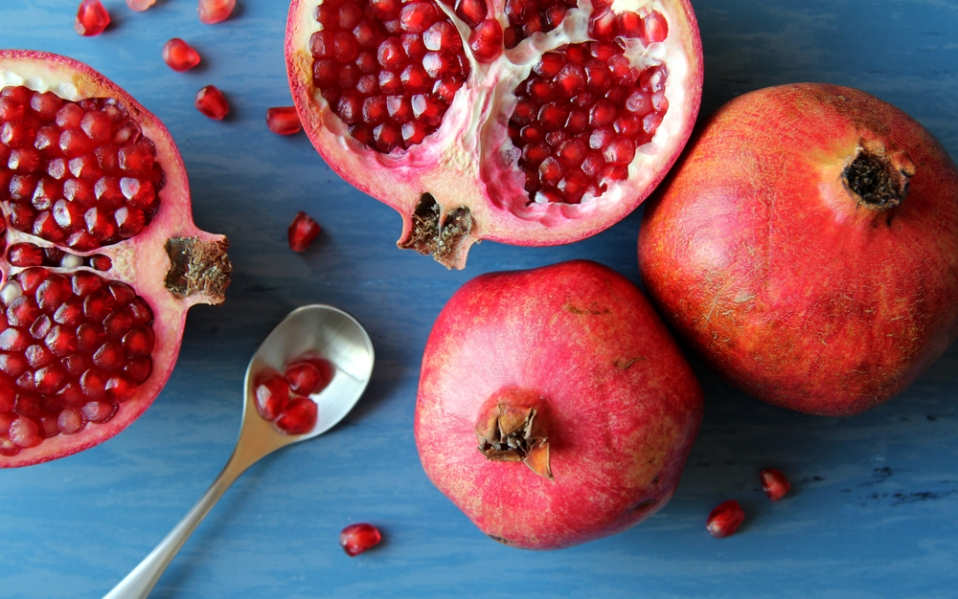 pomegranate skin care