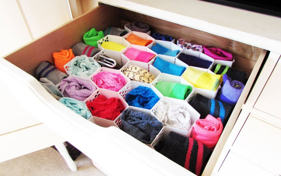 sock organizers drawer