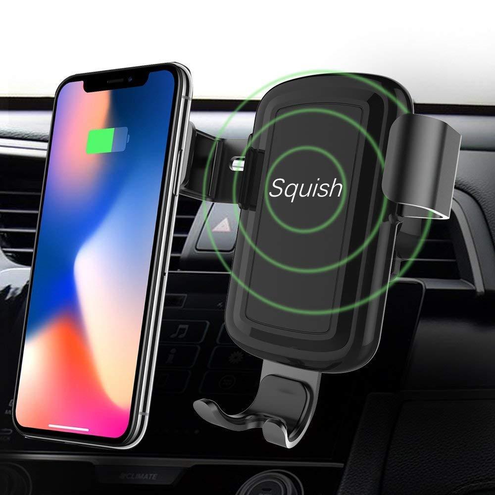 Squish Wireless Charging Universal Car Mount Amazon